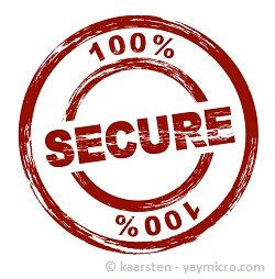 100 percent secure system