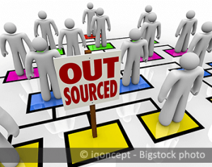 defining outsourcing process