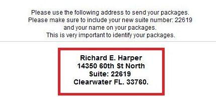 Ips address confirmation notificatio