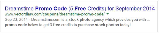 Google search result for free stock photos