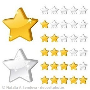 Showing a variety of feedback ratings on Odesk