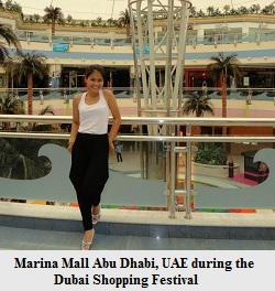 Dubai shopping festival at Marina Mall