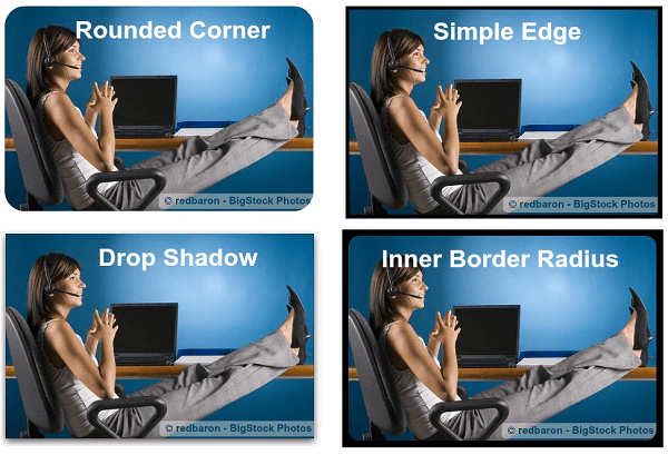 Picture Borders and Shadow Styles