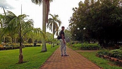 At Victoria Park