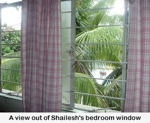 A view from Shailesh's window