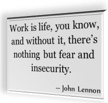 Famous quotation by John Lennon