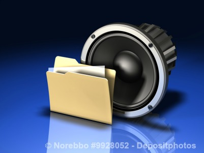 Audio folder concept