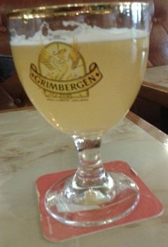 Very Expensive glass of beer in Paris