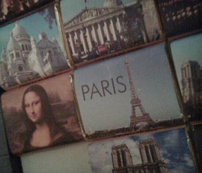 Postcard from my last visit to Paris