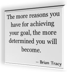 A famous quote by Brian Tracy