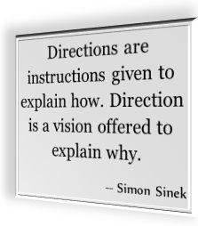 Simon Sinek's famous quotation