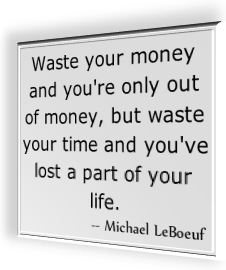 Famous Quotation by Michael LeBoeuf