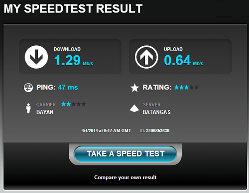 denises-internet-speed-test-result