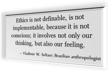 Famous Saying by Valdemar W. Setzer, Brazilian Anthropologist
