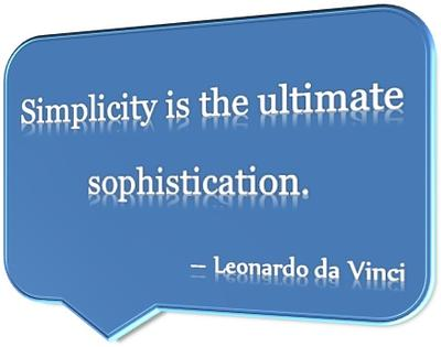 Great Saying by Leonardo Da Vinci
