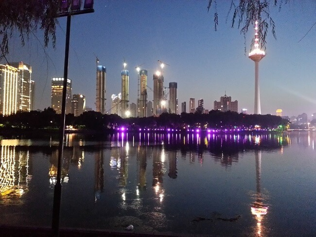 Another Beautiful view from Shenyang Skyline at night